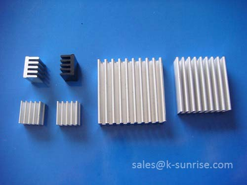 Aluminum Extruded Heat Sink For Consumer Electronic Product
