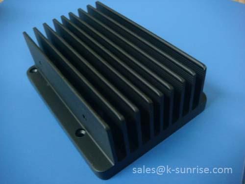 aluminium heat sink for power amplifier. Black Bedroom Furniture Sets. Home Design Ideas