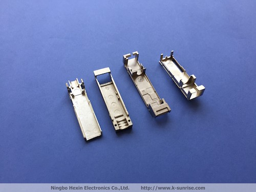Die casting parts for SFP shell