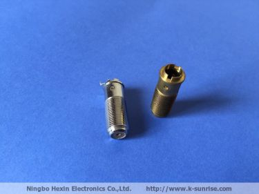 Copper  F connector 25mm