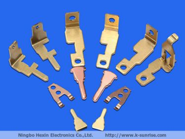 Brass sheet metal work thread part stamping